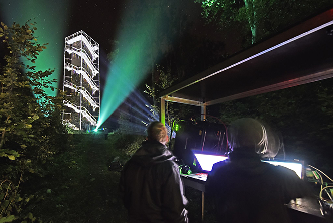 Vegroup production - projection mapping